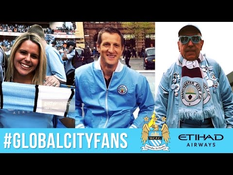 Finding Man City Superfans in Manchester | #GlobalCityFans