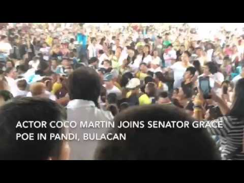 Coco Martin to voters: Is it right to curse, show lack of respect?