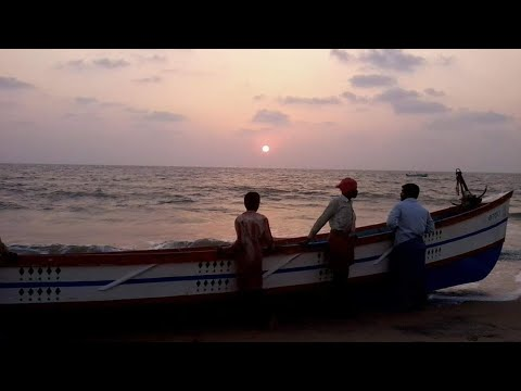 Beauty of Chavakkad Beach in Thrissur, Kerala