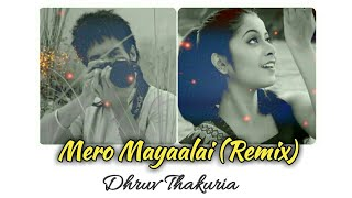 Mero Mayaalai (Remix) DHRUV THAKURIA | ZUBEEN GARG | SHATABDI | MISSION CHINA| New Assamese Remix