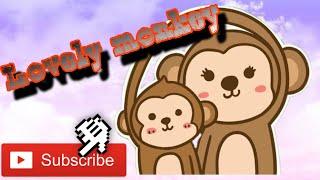 Drawing monkey | a funny monkey | a lovely monkey |របៀបគូររូប