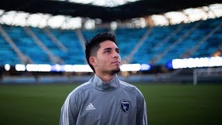 Earthquakes rookie Sergio Rivas' status as a 'Dreamer' makes road to MLS tougher