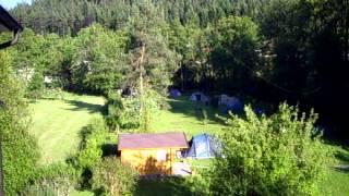 Camping im Schwarzwald auf der Müllerwiese
