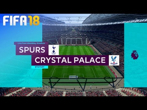FIFA 18 - Tottenham Hotspur vs. Crystal Palace @ Wembley Stadium