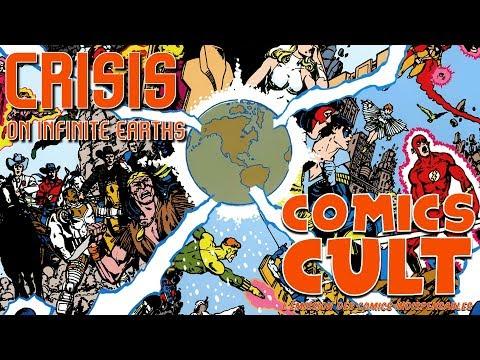 COMICS CULT - Crisis on Infinite Earths - DC Comics