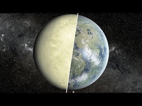 Apparently Venus Was Once A Habitable Planet