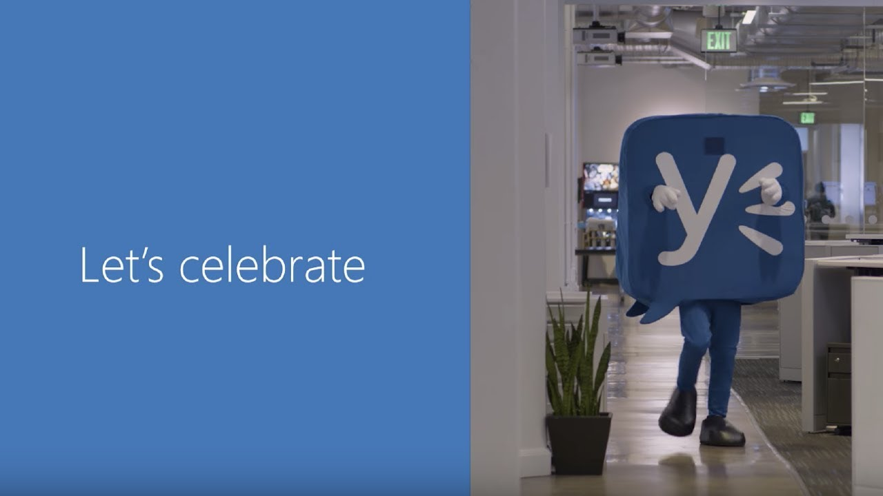 It's Yammer time: A 10 year celebration