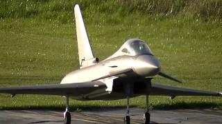 Eurofighter Typhoon Twin 127mm Edf Rc Jet Action