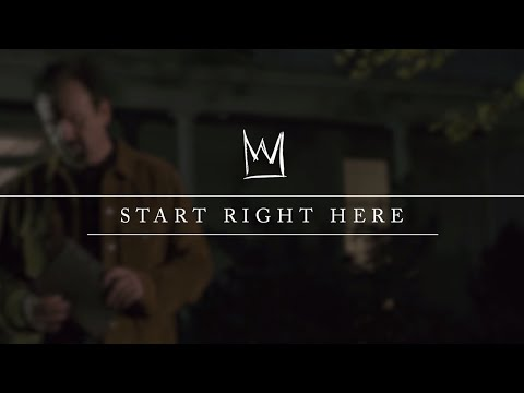 Casting Crowns - Start Right Here (Mark Hall Teaching Video)