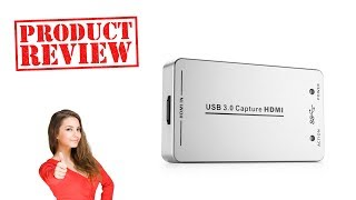 TNP UH60 HDMI To USB 3.0 Video Capture Dongle - Unboxing & Review