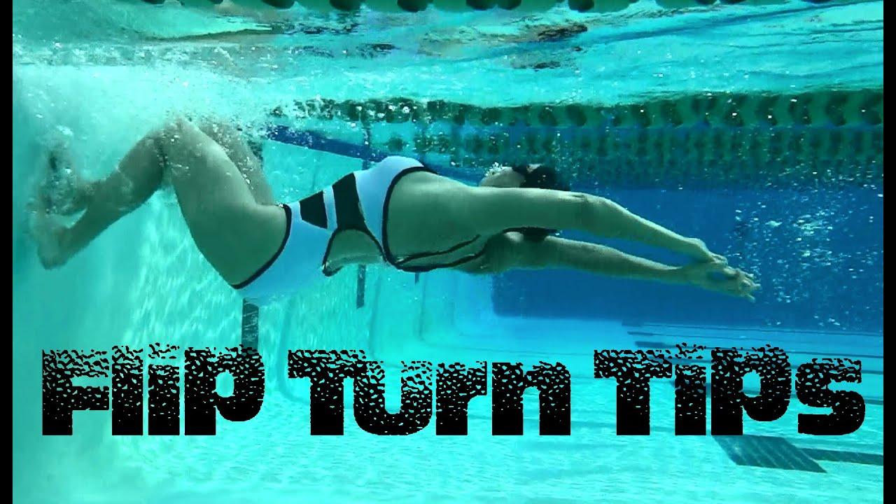 Flip Turn Tips - Swim with Leila - YouTube