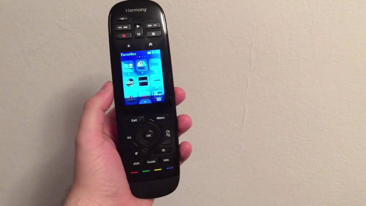 logitech harmony ultimate one remote control review youtube. Black Bedroom Furniture Sets. Home Design Ideas