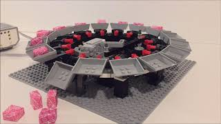 Lego Mindstorms EV3 - Candy Circles Dispenser System - Second proto