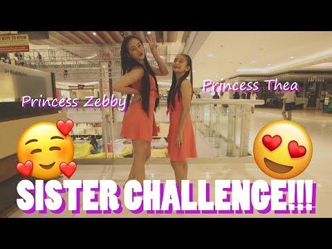 SISTER CHALLENGE WITH PRINCESS THEA!!! **MABANGIS**
