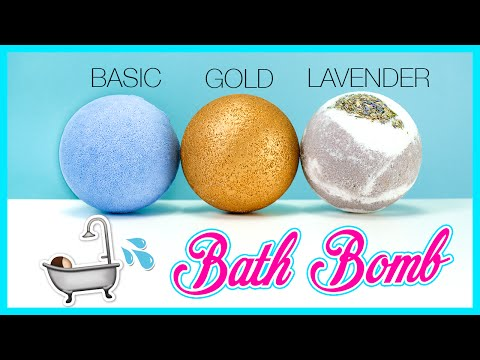 Thumbnail: DIY Easy BATH BOMB Recipe Using Bath Oils! ONLY 3 INGREDIENTS | LUSH INSPIRED!