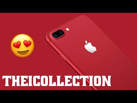 Apple lance un iPhone 7 rouge !
