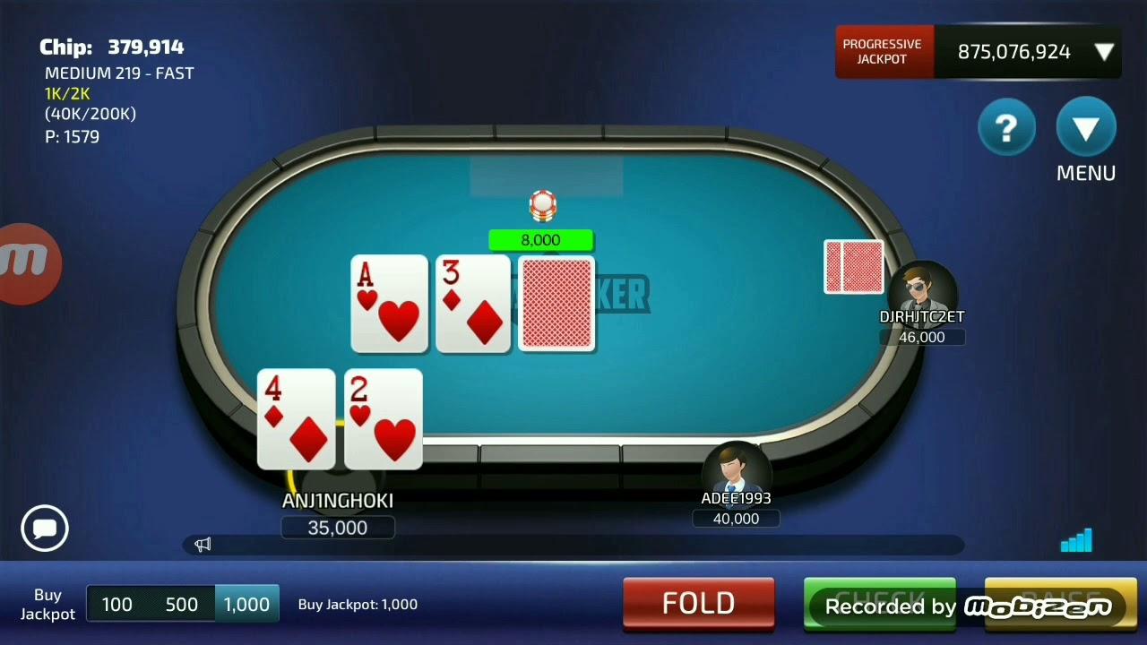 Jackpot Straight Flush Di Hari Lebaran Dewa Poker Poker Idn Youtube