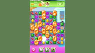 Candy Crush Jelly Level 134  -  no boosters