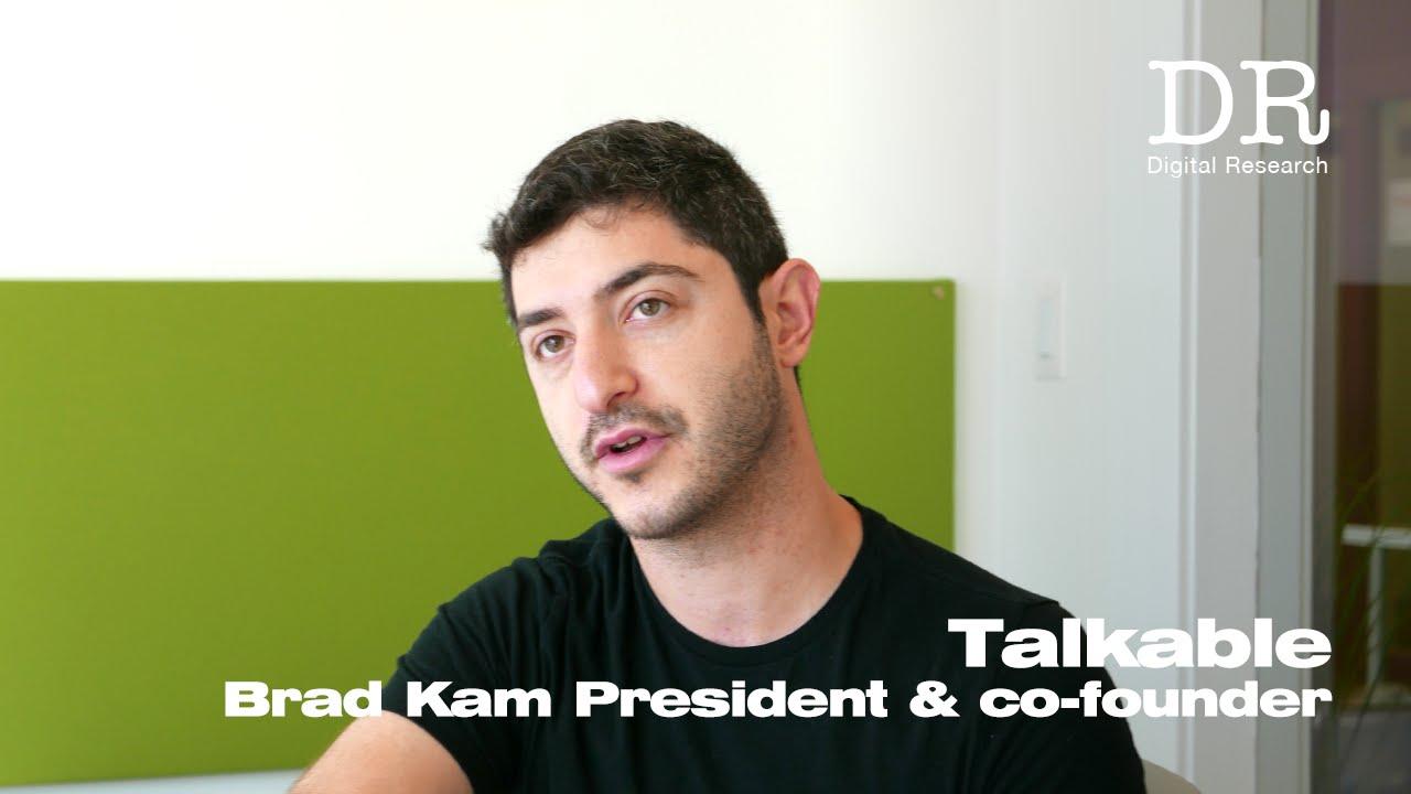 talkable brad kam インタビュー digital research youtube
