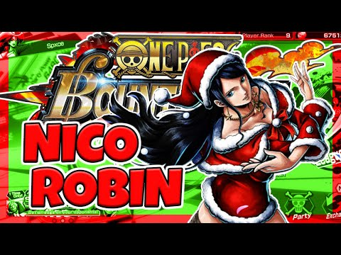 Nico Robin Happy Holiday Full Review And Gameplay - One Piece Bounty Rush