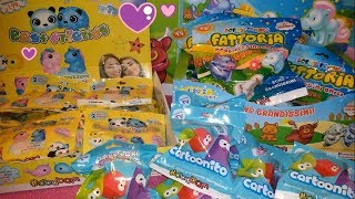 NOVITA' EDICOLA SBABAM: Softy Friends FATTORIA, DOKI DOKI Squishy CARTOONITO e Best Friends!!!