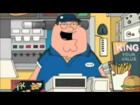 Family Guy - Ding Fries Are Done - Lyrics