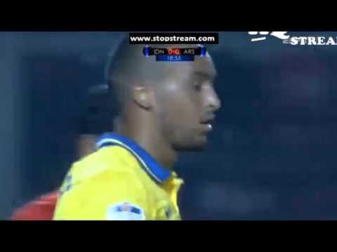 Arsenal 1 - 0 Indonesian All Stars - Theo Walcott Goal | Asia Tour 2013