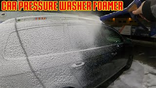 Cleaning my Car with Pressure Washer Foamer - GoPro Hero 8