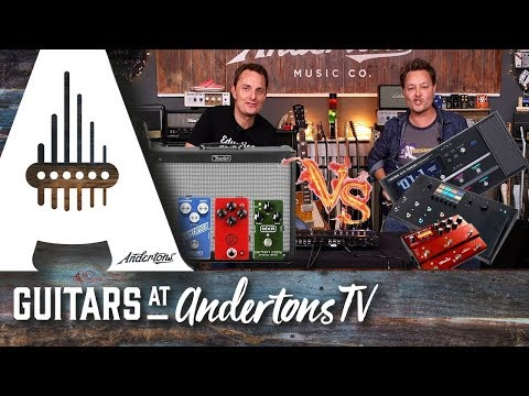 Real Amp And Pedals Vs Helix, GT1000, Headrush & Atomic Amplifire 6