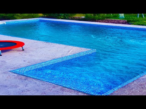 Бетонный Бассейн под Ключ в Марьянском. Оборудование для Бассейна