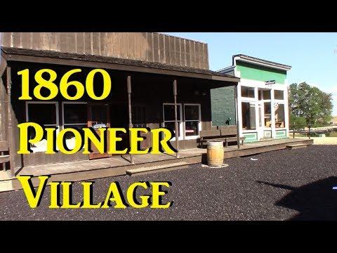 Tour an 1860 Pioneer Village  10.09.17