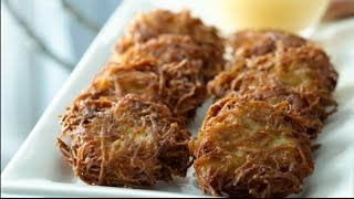 Best Ever Potato Latkes- Potato Pancakes Recipe