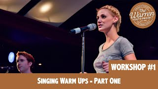ELLE - Singing Warm Ups (Part One) - Mmm, Moo, May, Mar