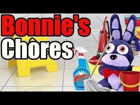 FNAF Plush - Bonnie's Chores