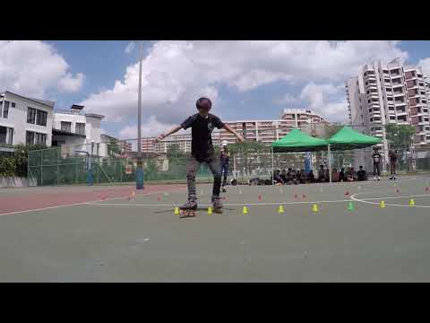 Ngee Ann Polytechnic Freestyle Competition Men's Classic Slalom - Swee Kiat