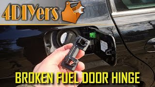 BMW E39 Fuel Door Hinge Replacement