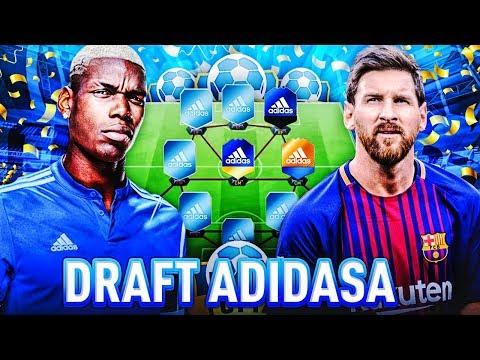 DRAFT DRUŻYNY ADIDAS!! FIFA 17 #TEAMADIDAS