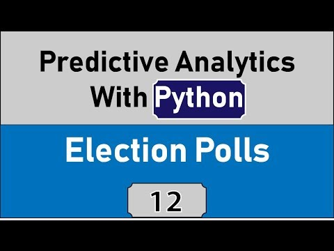 Learning Predictive Analytics With Python, Analyzing Election Data
