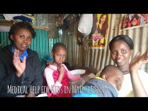 Mother and Handicapped Children Living in Slum