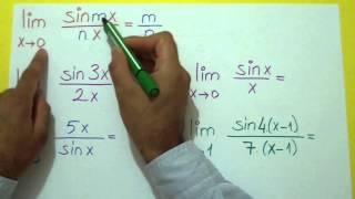 Limit 4 (0/0 Belirsizliği) Şenol Hoca Matematik