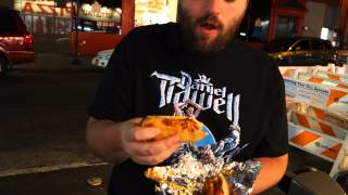 Papaya Dog In Midtown Manhattan - Chili Cheese Hot Dog & Dog With Ketchup & Mustard - New York City