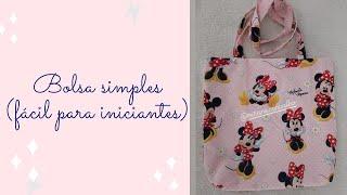 Bolsa com Estampa Minie