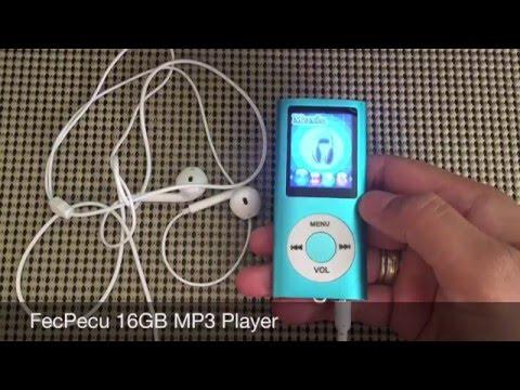 FecPecu 16GB MP3 Player