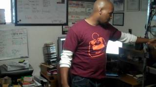 Blacks In Technology video podcast episode 1 cont'd (Greg's Lab)