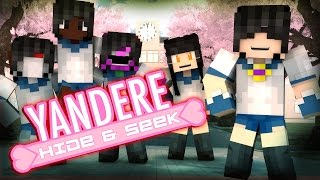 Minecraft YANDERE HIDE N SEEK!! /w Facecam