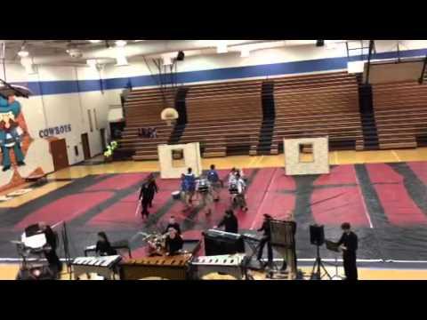 Cape Coral High School Indoor Drumline 2013