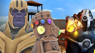 Can Thanos' INFINITY GAUNTLET Escape HIGH SECURITY PRISON in Gmod!?