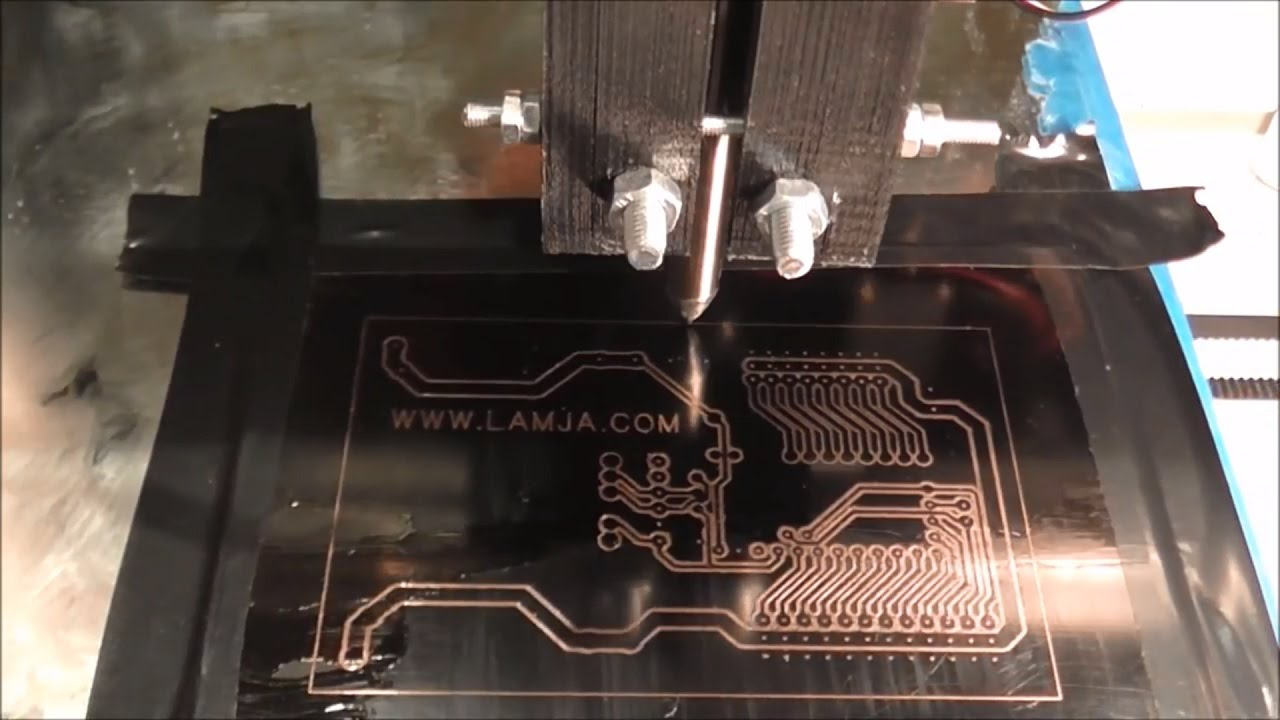 Making Pcb With 3d Printer And Permanent Marker Youtube Cutting Machine Printed Circuit Board Suppliers