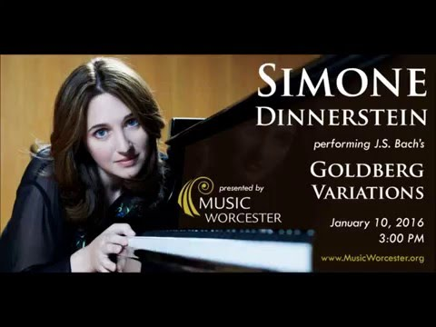Music Worcester presents Simone Dinnerstein: The Goldberg Variations