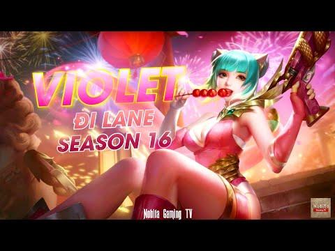 Violet Đi Lane + Yorn Rừng Đọ Sức Cùng Kriknak Và Capheny Team Bạn | Liên Quân